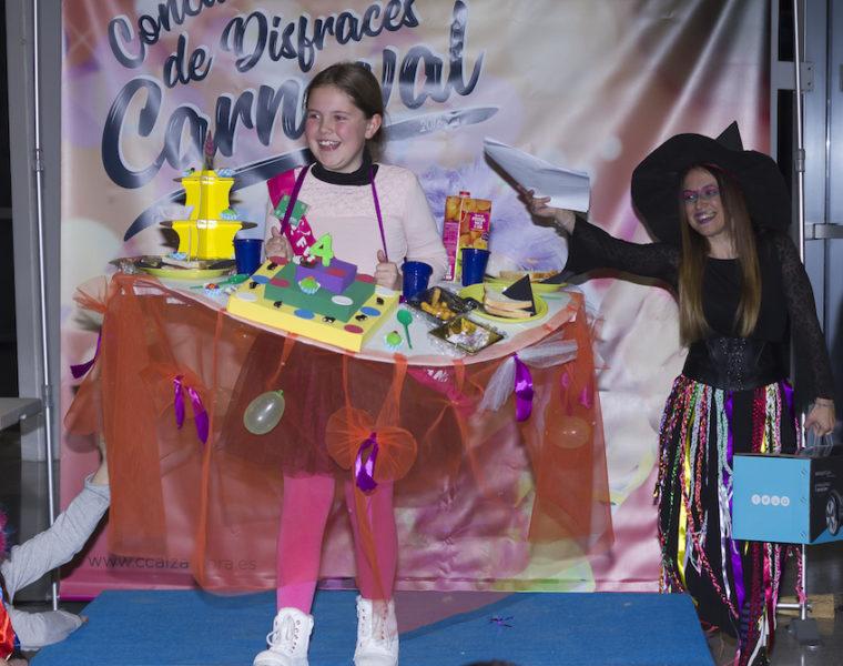 concurso infantil de disfraces de carnaval Alzamora Alcoy