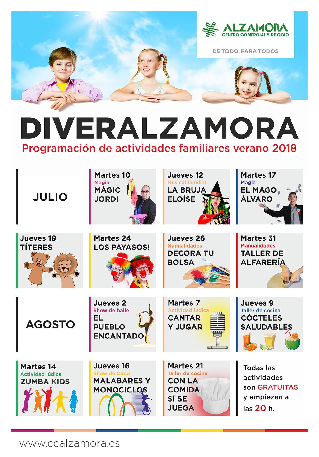 DiverAlzamora - Centro Comercial Alzamora
