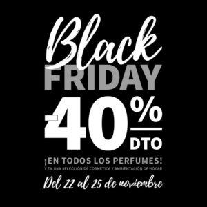 Descuentos del 40% en Equivalenza en el Black Friday en Alzamora 2018