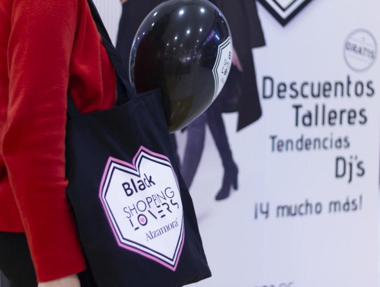 Tote Bag premio Alzamora Alcoy Black Shopping Lovers