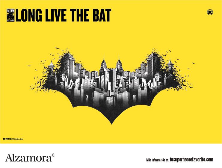Imagen actualidad del 80 aniversario de Batman en Alzamora-Alcoy