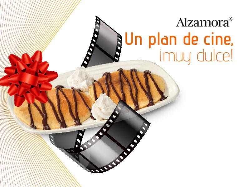 Plan de cine muy dulce